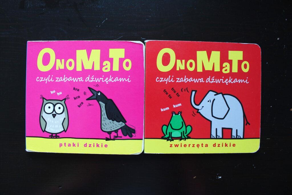 najlepsze książki dla niemowlaków OnoMaTo
