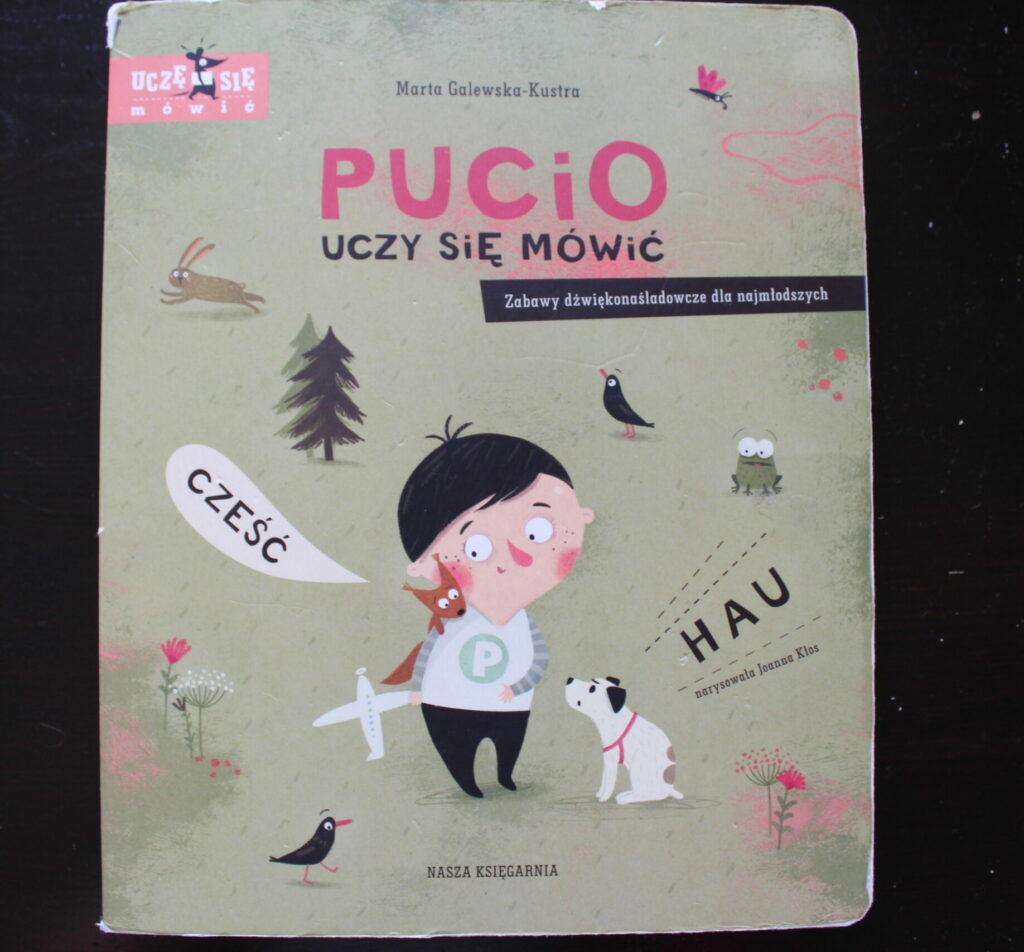 najlepsze książki dla niemowlaków Pucio