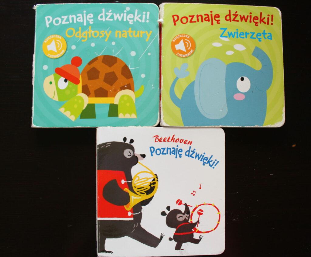 najlepsze książki dla niemowlaków poznaję dźwięki