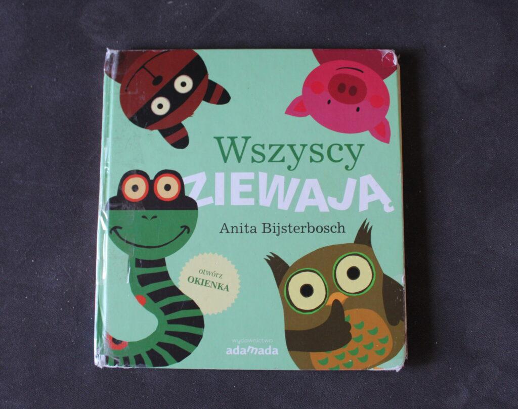 książki dla niemowlaków Wszyscy ziewają