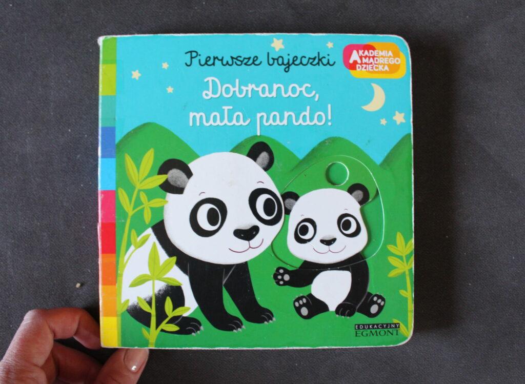 książki dla niemowlaków Dobranoc, mała pando