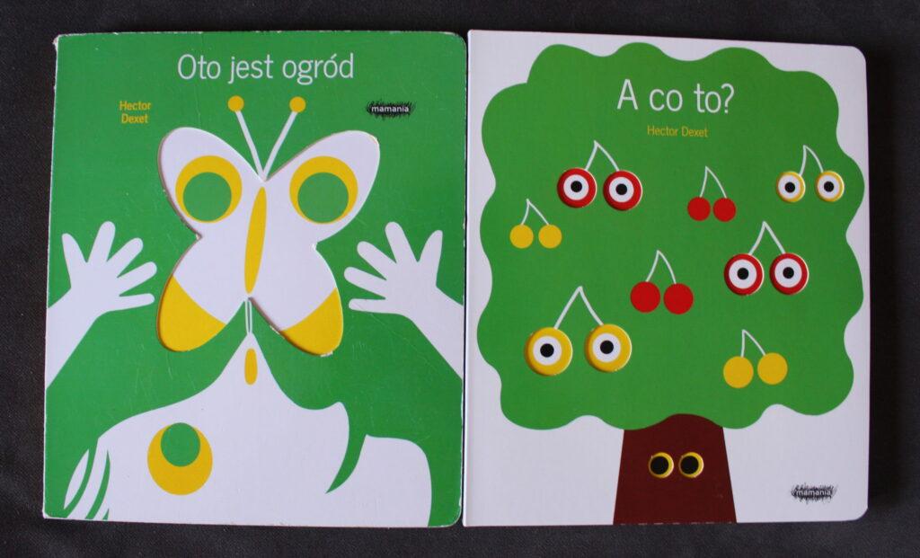 książki dla niemowlaków Hector Dexet