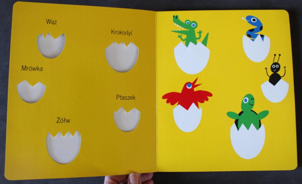 książki dla niemowlaków A co to 2
