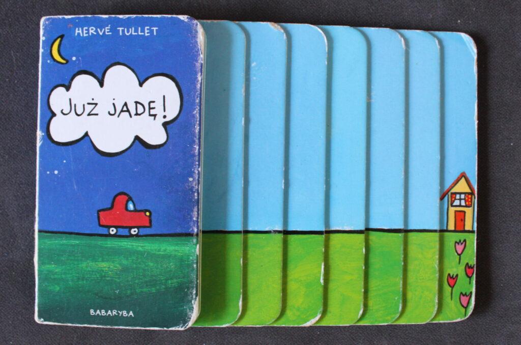 książki dla niemowlaków Już jadę