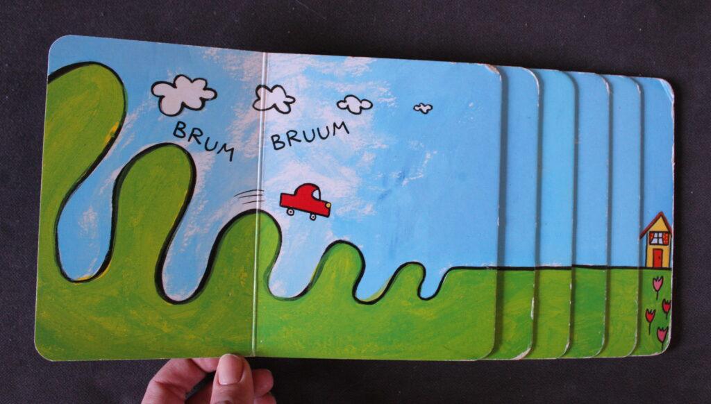 książki dla niemowlaków Już jadę 2