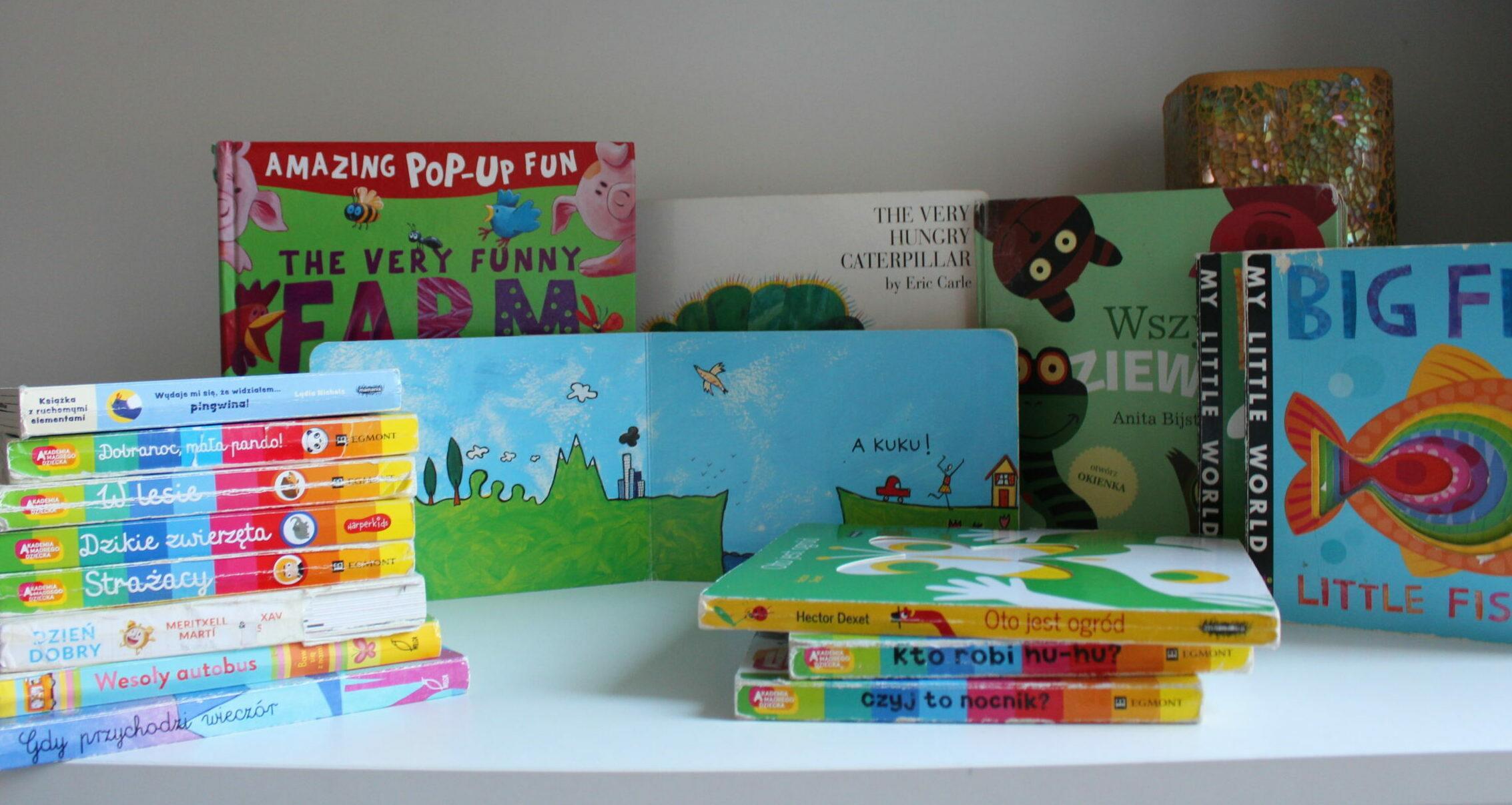 książki dla niemowlaków część 2