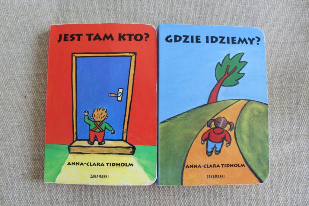 książeczki aktywnościowe dla niemowlaków