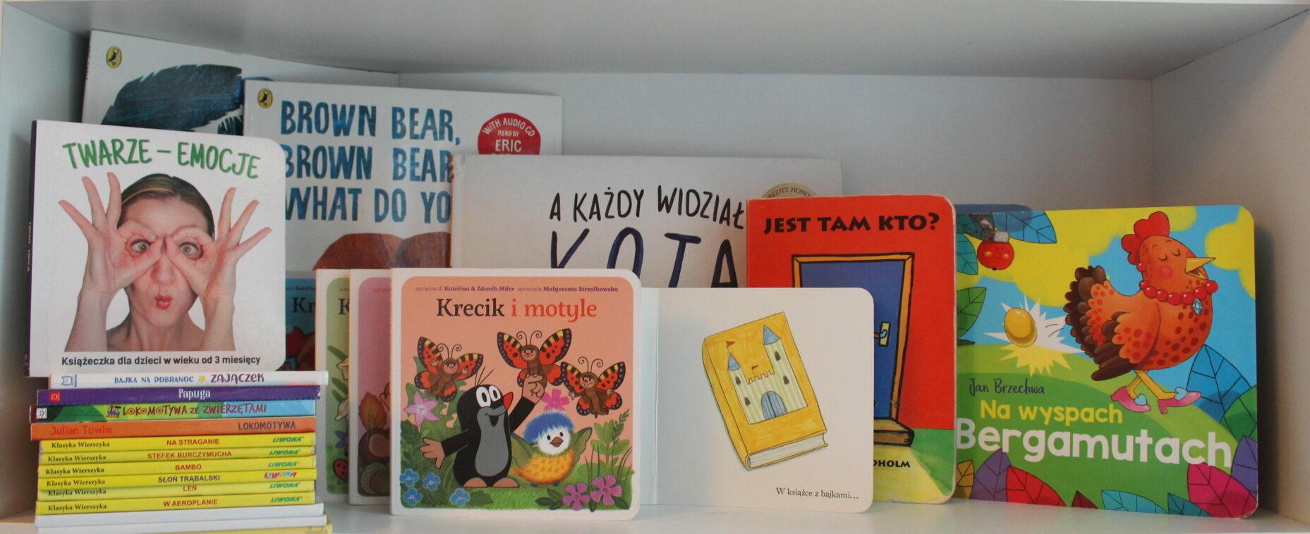 książki dla niemowlaków