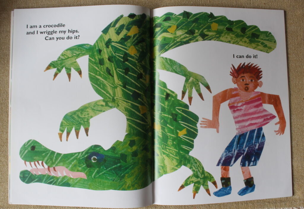 książeczki dla niemowlaków Eric Carle