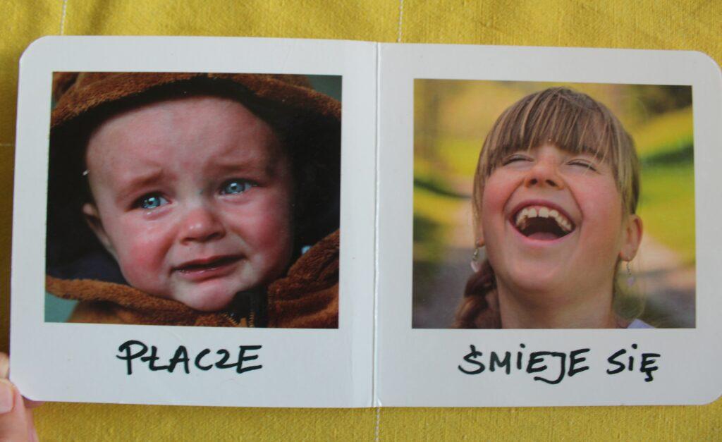 książki dla niemowlaków - twarze